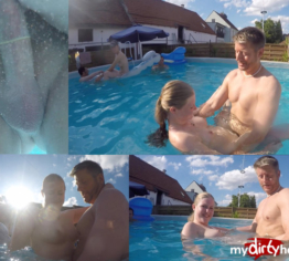 User-Fick bei der Poolparty!!