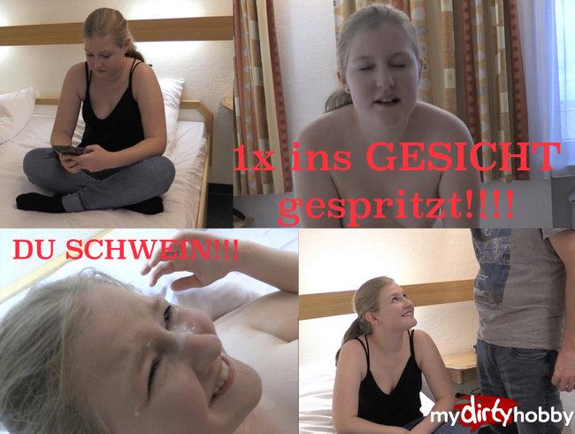 1x GESICHT GESPRITZT!!!